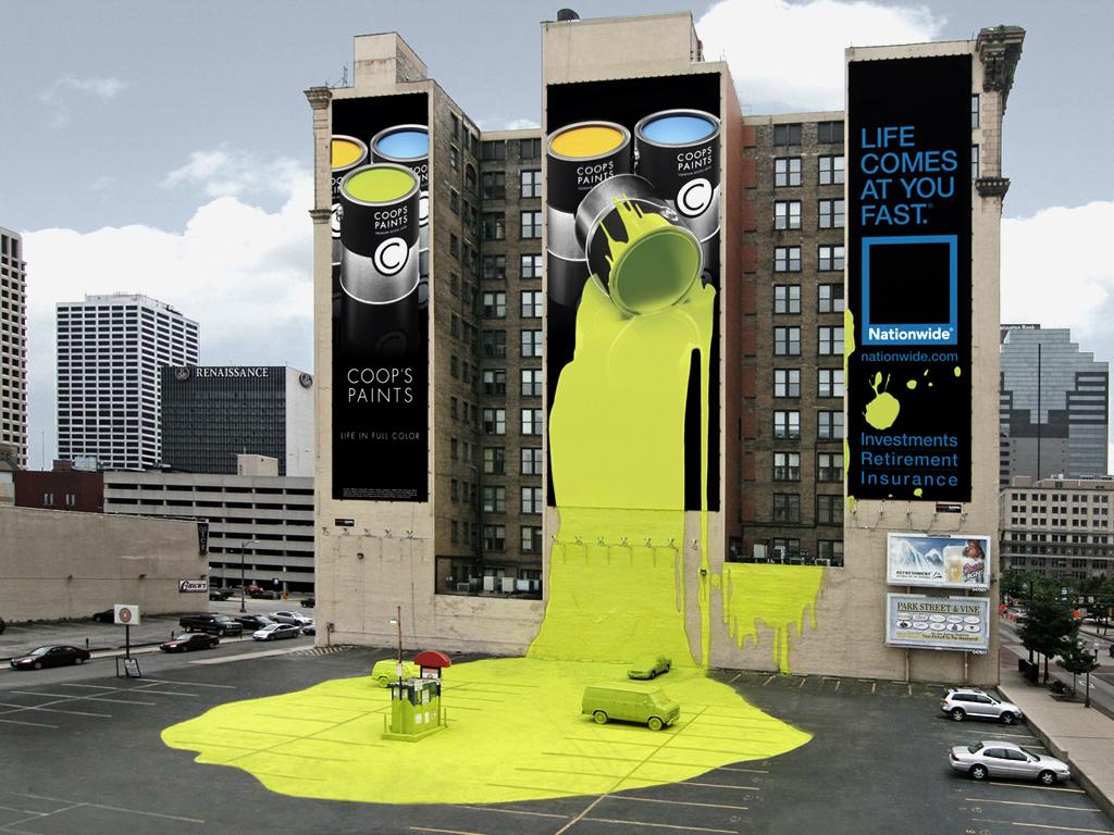 Плюсы и минусы наружной арт дизайн вывески рекламы