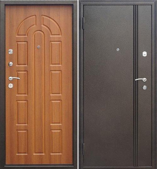 Какую наружную дверь выбрать: технические требования