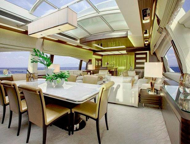 Роскошная яхта «Azimut Grande»