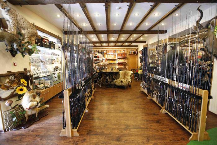проект рыболовного магазина