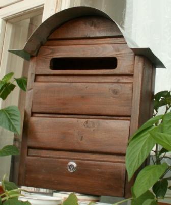 Почтовый ящик для частного дома своими руками