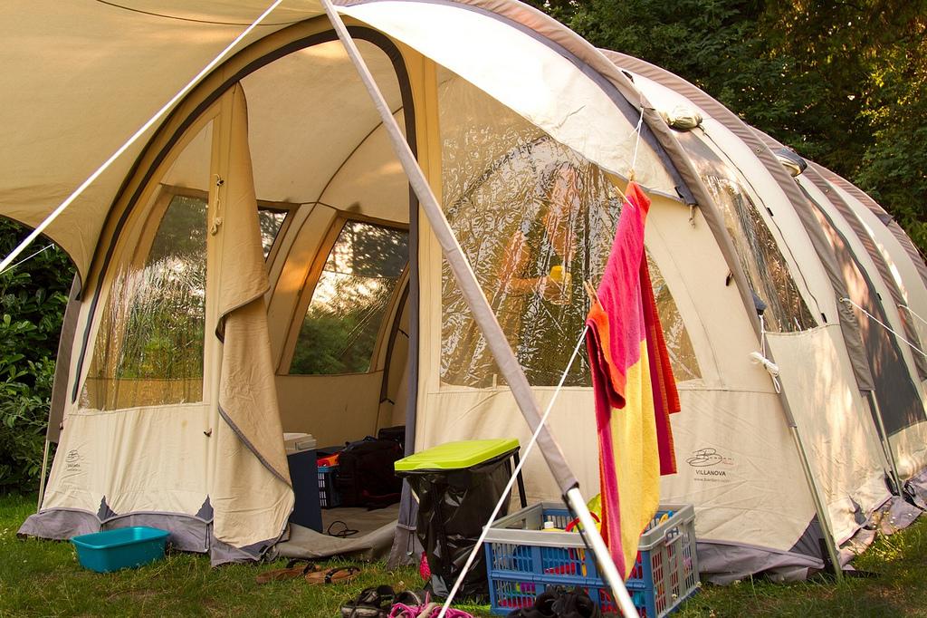 Палатка туристической своими руками