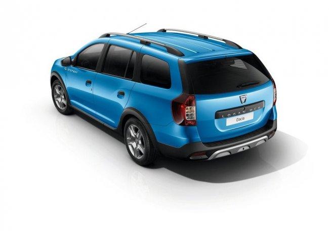 Новый универсал Dacia Logan MCV Stepway 2017