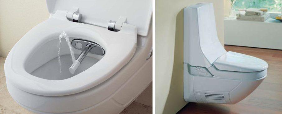 удобный туалет биде два в одном годах