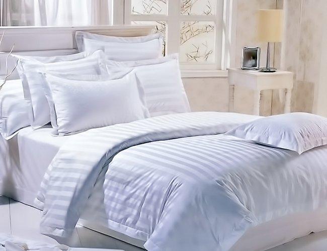 Постельное белье для отелей, гостиниц