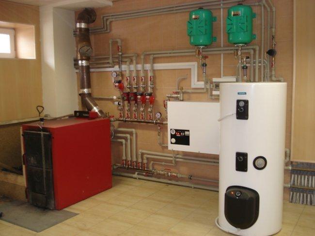 Комбинированный бойлер + газовый котел. Оптимальная формула отопления дома